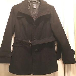 Nicole Miller Belted Pea coat
